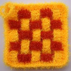Scrubber & Scrubber Yarn: Square-Grid Dish Scrubbies Washing Clothes, Shag Rug, Grid, Etsy Seller, Dishes, Crochet, Creative, Shaggy Rug, Crochet Hooks