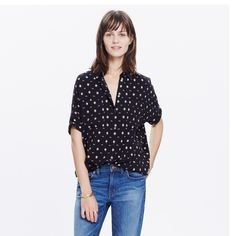 Madewell courier  shirt in it's print New Madewell Tops Button Down Shirts