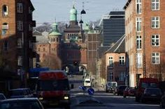 Vesterbro.Hot and lively area in Copenhagen