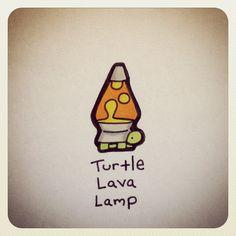 Turtle Lava Lamp #turtleadayjuly - @turtlewayne- #webstagram