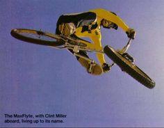 Clint Miller BMX Action
