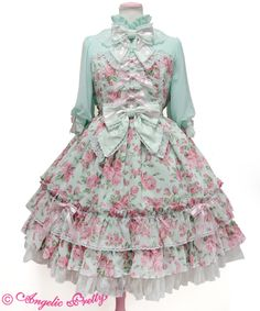 Angelic Pretty Dramatic Roseワンピース