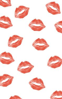 Kusjes kisses lips