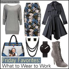Do you want to break away from the usual black and navy blue suit? Are you worried about wearing too many patterns? We have an outfit idea that is not only fashionable, it is practical for business.  Add the color gray to your wardrobe instead of white for the Fall.  We like the idea of a solid
