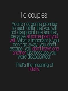 what every couple needs to remember