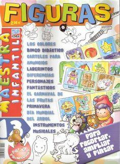 Figuras Maestra Infantil Para Niños De