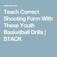 Teach Correct Shooting Form With These Youth Basketball Drills Basketball Drills For Kids, Basketball Shooting Drills, Basketball Rules, Basketball Workouts, Sports Basketball, College Basketball, Basketball Players, Kids Klub, Coaching