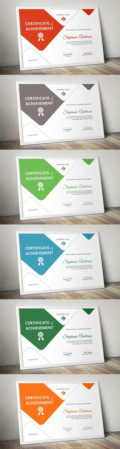 Creative Certificate Template Stationery Templates $600 - creative certificate designs