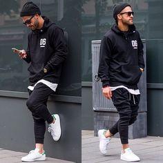 6 Charming Clever Ideas: Urban Dresses Swag Boots urban fashion plus size retro vintage.Urban Fashion For Men Pants urban wear swag beanie. Urban Style Outfits Men, Casual Outfits, Men Casual, Fashion Outfits, Man Style Casual, Swag Style, Trendy Style, Casual Hair, Men's Style