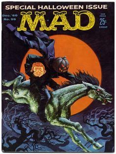 MAD MAGAZINE # 59 (Dec.1960) Wally Wood, Kelly Freas, Mort Drucker