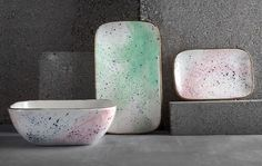 Show details for Splatters Matter Plates and Bowls