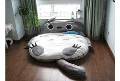 I need this. Big Totoro Sleeping Bag | 17 Must-Have Studio Ghibli Gifts
