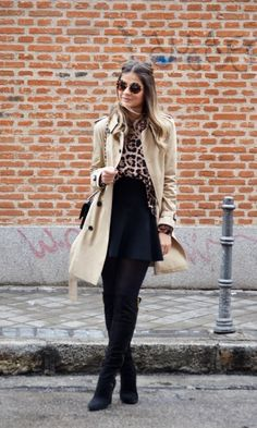 Meu look  Trench Coat! - Blog da Thássia | Moda It