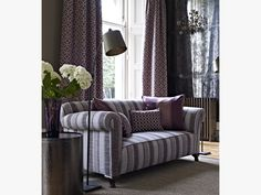 Prestigious Textiles have been designing beautiful interior fabrics and wallpapers for over 30 years. Choose from the UK's widest range of upholstery, cushion and curtain fabrics. Prestigious Textiles, Sofa, Couch, Modern Prints, Soft Furnishings, Textile Design, Love Seat, Curtains, Drapery
