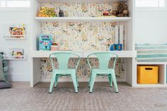 The best design tips on how to design a space that will grow with your kids, from toddler to pre-teen and beyond. Design A Space, Kids Room Design, Your Design, Extra Storage Space, Storage Spaces, Unique Rugs, Playroom Ideas, Large Furniture, Room Themes