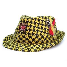 Maryland Terrapins Limited Edition Gold Out Fedora