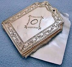 Antique Mother of Pearl Needle Case Book - Victorian