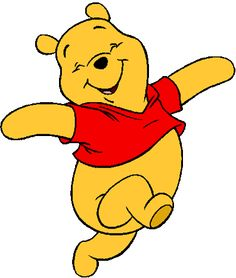 winnie the pooh vector material free vector thema winnie the pooh rh pinterest co uk pooh clipart free winnie pooh clipart