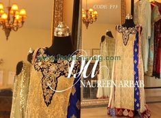 Naureen Arbab Embroidered Dresses 2014 In Stores