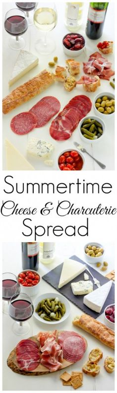 Learn how to make the ULTIMATE Summertime Cheese & Charcuterie Spread