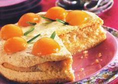 Apricot Mousse Torte http://pikachakula.com/...