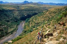 Malealea Lodge | Pony Trekking Lesotho | Things To Do - Dirty Boots Adventure Activities, Travel Bugs, Amazing Adventures, Countries Of The World, Trekking, Things To Do, Pony, Scenery, Around The Worlds