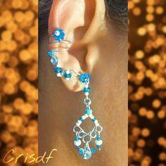 Ear  cuff, orelha, #crisdf