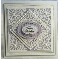Creative Expressions Dies by Sue Wilson Austrian 4 Piece Collection - Corner, Border and Tags Sue Wilson Dies, Spellbinders Cards, Die Cut Cards, Marianne Design, Create And Craft, Shabby, Paper Cards, 3d Cards, Copics