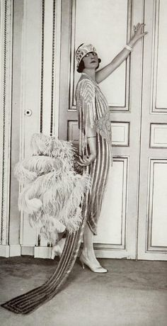 The Glamour! - October 1921 - Les Modes, Paris