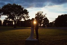 Bride and groom at sunset in Tankardstown House Meath Wedding photographers meath ireland Ireland Wedding, Fine Art Wedding Photography, Kara, Real Weddings, This Is Us, Wedding Photos, Groom, Bride, Sunset