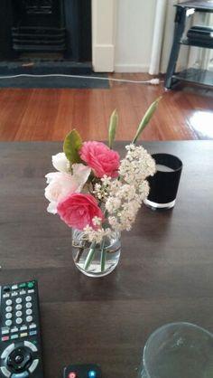 Flower mix Glass Vase, Flowers, Home Decor, Homemade Home Decor, Royal Icing Flowers, Flower, Decoration Home, Florals, Bloemen