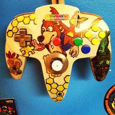 BanjoKazooie N64 controller