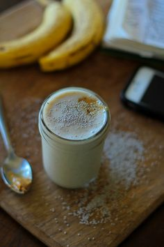 This 4-ingredient Almond Butter ProteinSmoothie provides a boost of antioxidants and omega-3 fatty acids, and makes for a healthful breakfast or snack. Well hello there! We all made it through the...