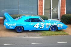 The Secret Story of Richard Petty's Long Lost Plymouth Superbird 1969 Dodge Charger Daytona, Dodge Daytona, Plymouth Muscle Cars, Dodge Muscle Cars, Nascar Race Cars, Old Race Cars, Richard Petty, King Richard, Plymouth Superbird