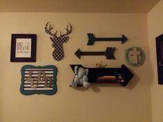 Arrows and antlers nursery