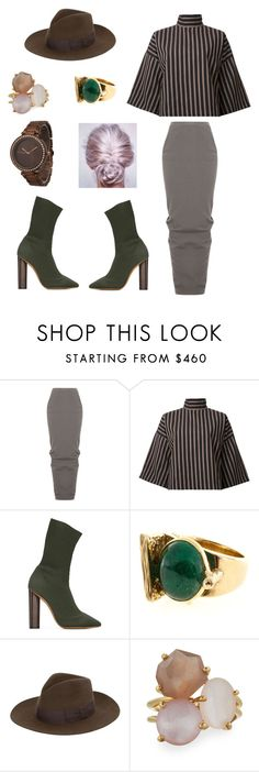 """Work Lady's"" by dominiques15 ❤ liked on Polyvore featuring Rick Owens, STRATEAS.CARLUCCI, adidas Originals, Yves Saint Laurent, Ippolita and Olivia Pratt"