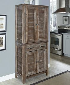 Look at this #zulilyfind! Aged Barnside Pantry #zulilyfinds