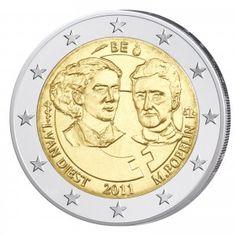 Belgien 2 Euro-Gedenkmünze 2011 100. Jahrestag des Internationalen Frauentages