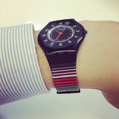 the only kind of watch you should buy. a Swatch