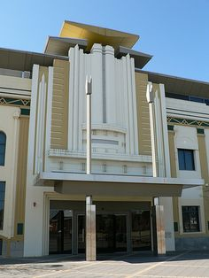 Hindmarsh Town Hall. Art Deco Building. Adelaide, South Australia. I lived about 4-5 miles from here.