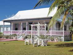 The McCoy House - Grand Cayman, Cayman Islands. A traditional style home on the south coast of the island. #Caribbean