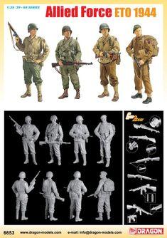 46809cab585 6653 - 1 35 Allied Force (ETO 1944) - Dragon Plastic Model Kits