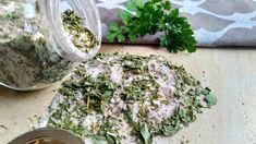 Domáca bylinková soľ Zdravo, How To Dry Basil, Herbs, Food, Essen, Herb, Meals, Yemek, Eten