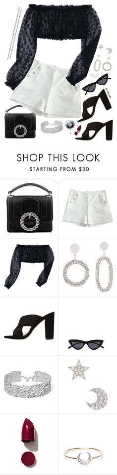 """""""🌒"""" by gabyidc ❤ liked on Polyvore featuring Marc Jacobs, DANNIJO, Gab+Cos Designs, NARS Cosmetics and I+I"""