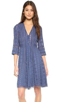 Rebecca Taylor Embellished Dress - SO PRETTY IN BLUE!!