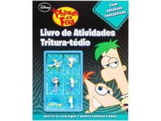 Livro Infantil Disney - Atividades Tritura-Tédio Phineas e Ferb DCL com as melhores condições você encontra no Magazine Raimundogarcia. Confira!