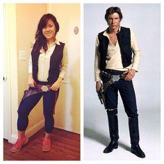 Han Solo // Star Wars // runDisney // Walt Disney World 10K 2014 // Dopey Challenge // Running Costume