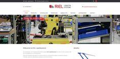 Webdesing für RIEL Logistiksysteme in Reinprechtspölla/NÖ. Web Design, Gym Equipment, Web Design Projects, Products, Design Web, Workout Equipment, Website Designs, Site Design
