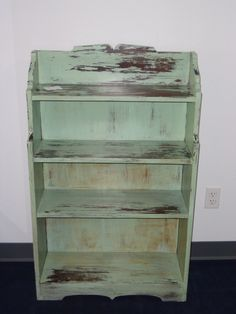 Hand distressed and painted by ASimplePlaceonMain.