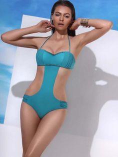664172b22199c Jolidon 2014 Rock Monokini Bandeau Swimsuit  http://www.elitefashionswimwear.com/
